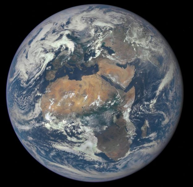 NASA has made thousands of aerial images of Africa available to the public. Image: NASA