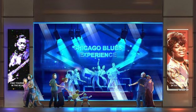 Chicago is set to get a museum dedicated to the blues. Image: Chicago Blues Experience