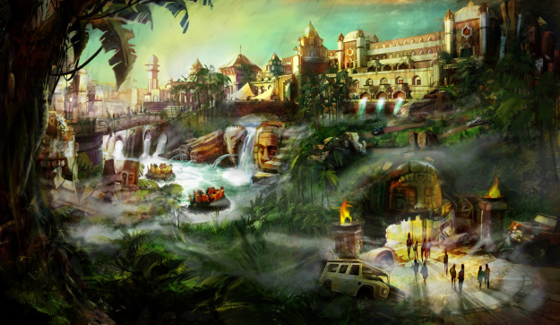 A new £3.5 billion theme park is set to open in Kent, England. Image: London Paramount