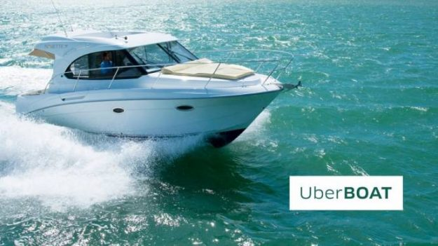 UberBOAT speedboat taxi service is launching in Croatia. Image: UberBOAT