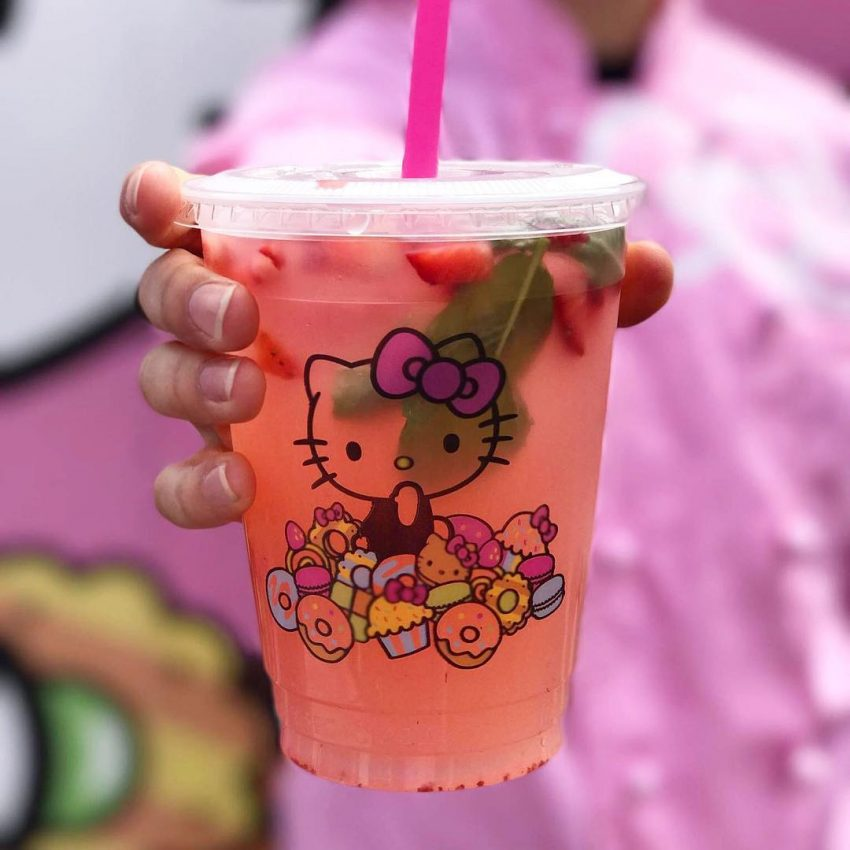 America S First Permanent Hello Kitty Cafe Opens In California