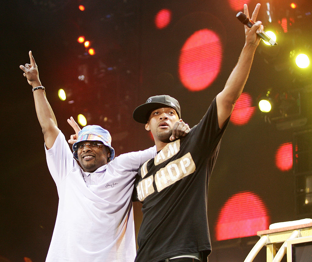 DJ Jazzy Jeff and The Fresh Prince Will Smith Image: Jason Squires/WireImage