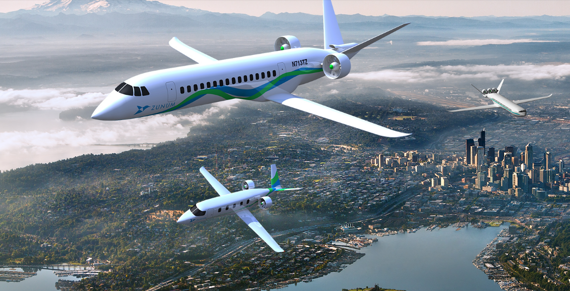 This tiny electric jet startup is hoping to reinvent regional air travel. : Zunum Air