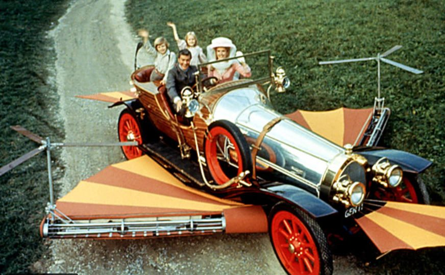 A scene from Chitty Chitty Bang Bang: Image: United Artists