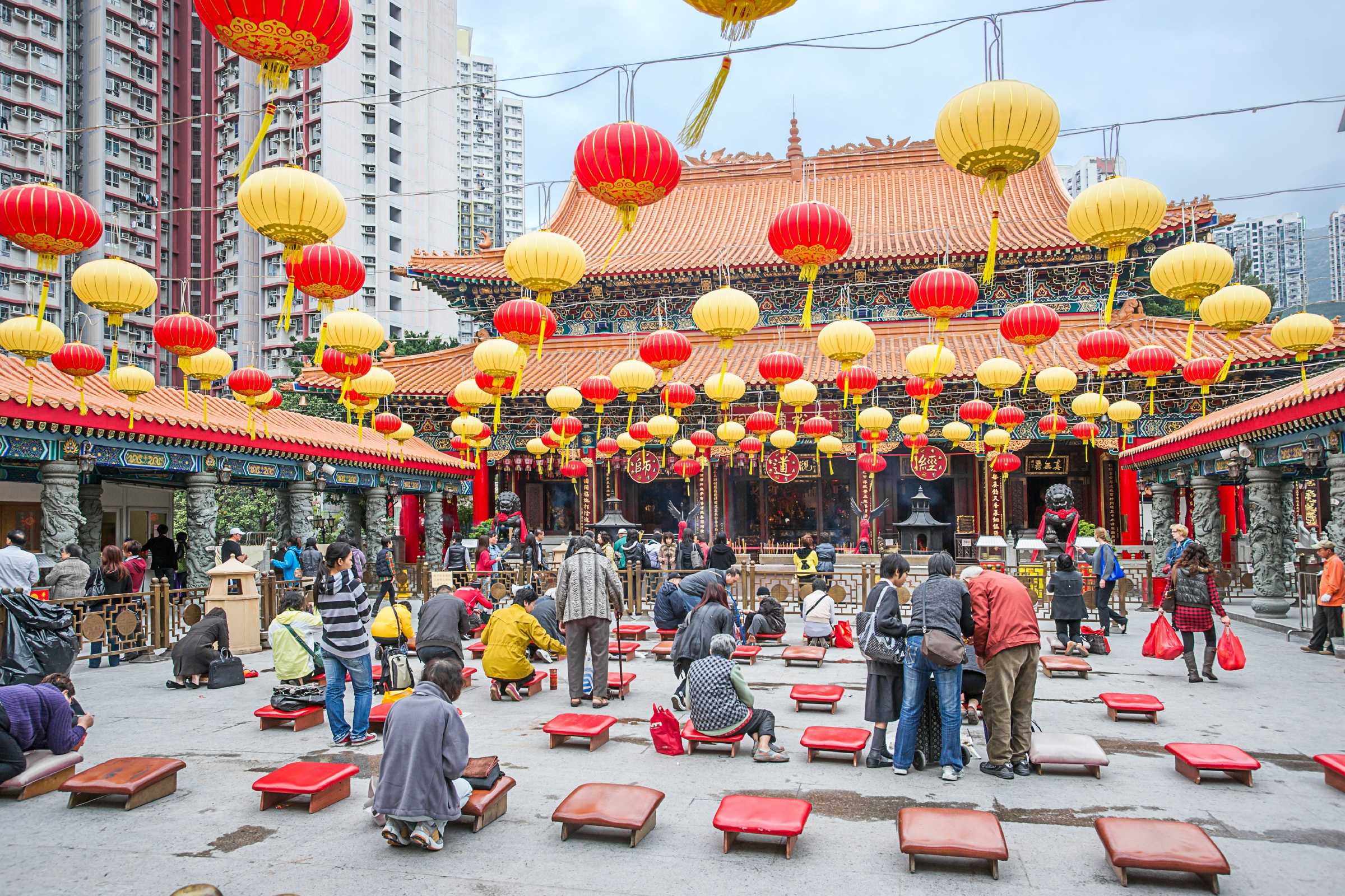 Flights to Hong Kong are 11 per cent cheaper than last year. Image: Roman Babakin/Shutterstock