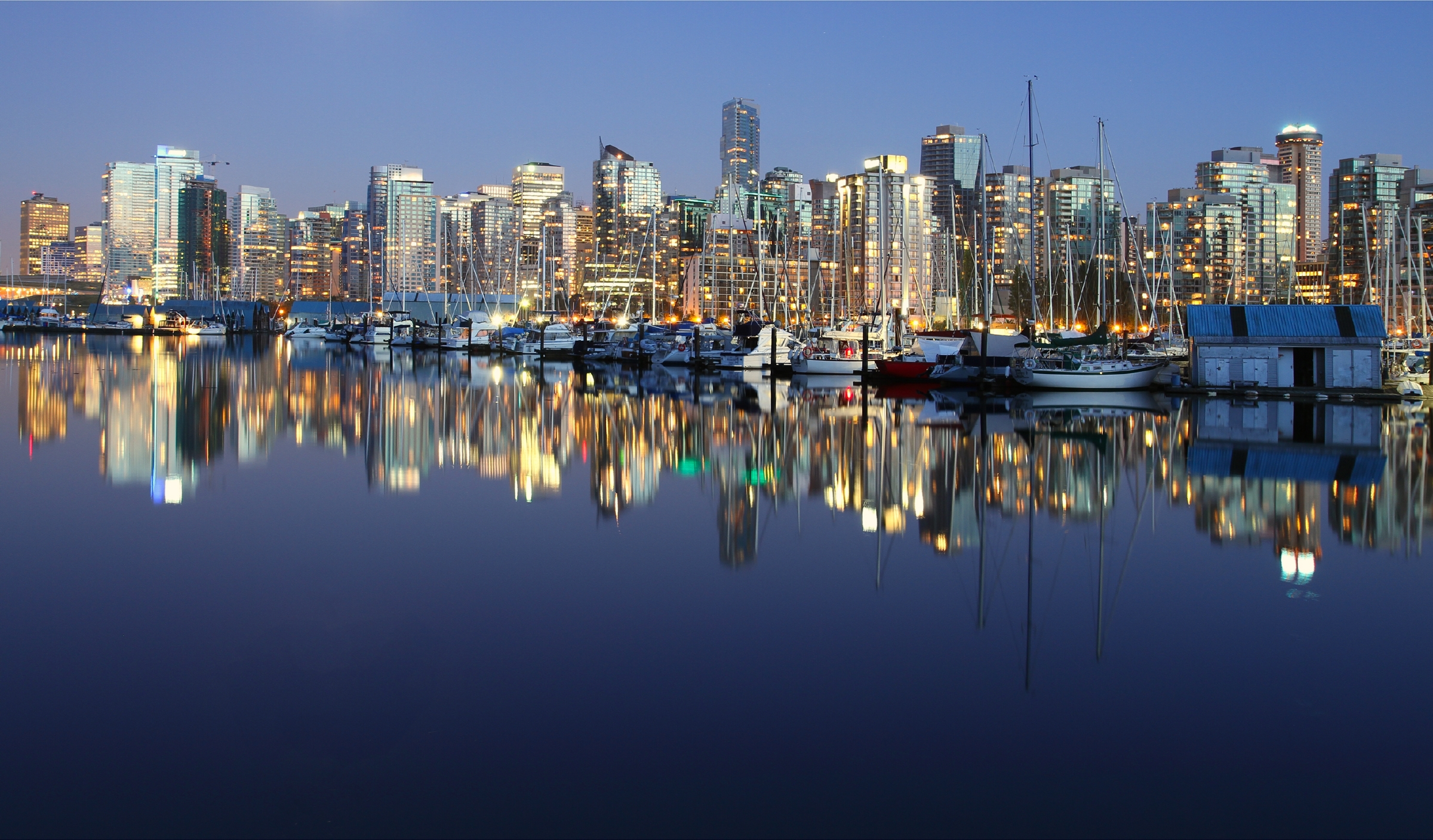 Flights to Vancouver, Canada, are 18 per cent cheaper than last year. Image: Denis Kuvaev/Shutterstock
