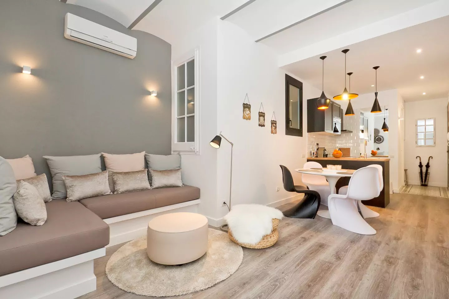 Visit Barcelona in an Airbnb.