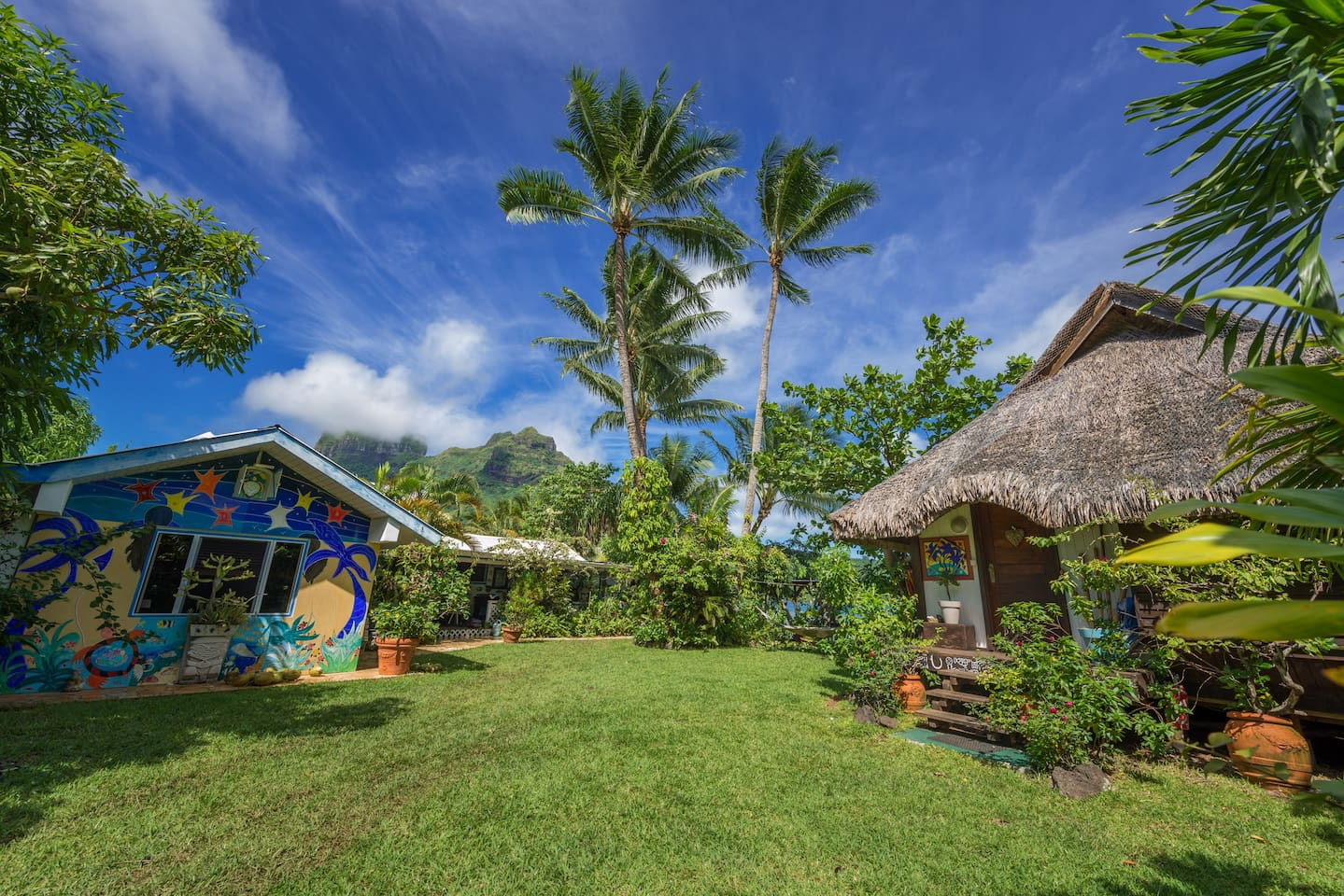 If you're heading to Bora Bora, check out this Airbnb.