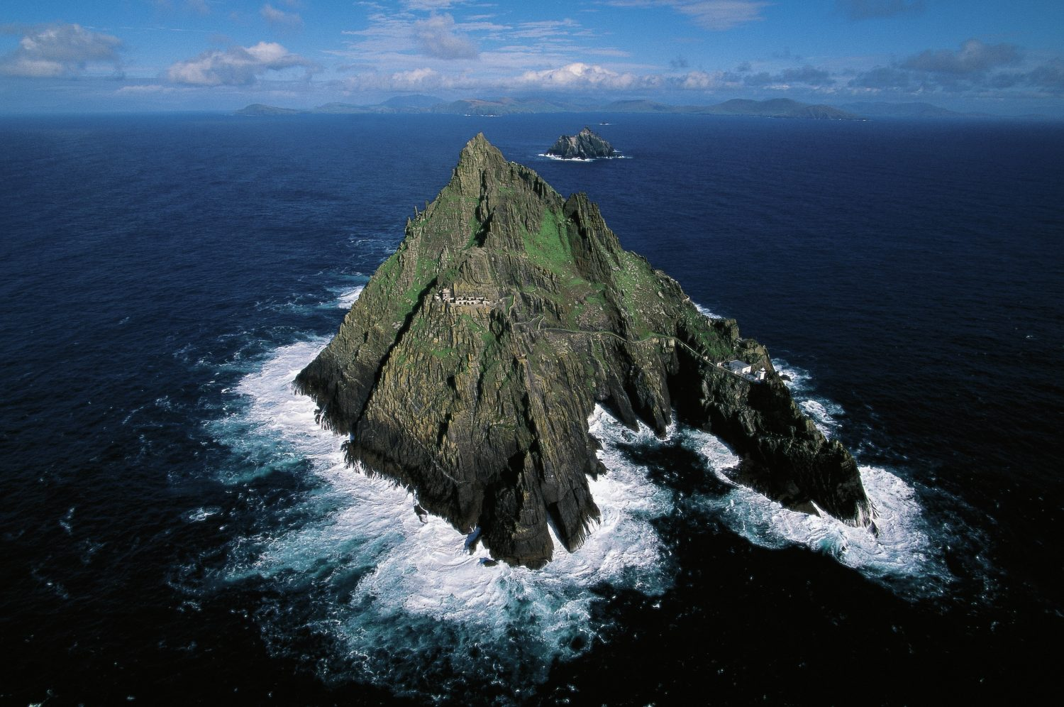 Skellig Michael, County Kerry, Ireland. Image: DeAgostini/Getty Images