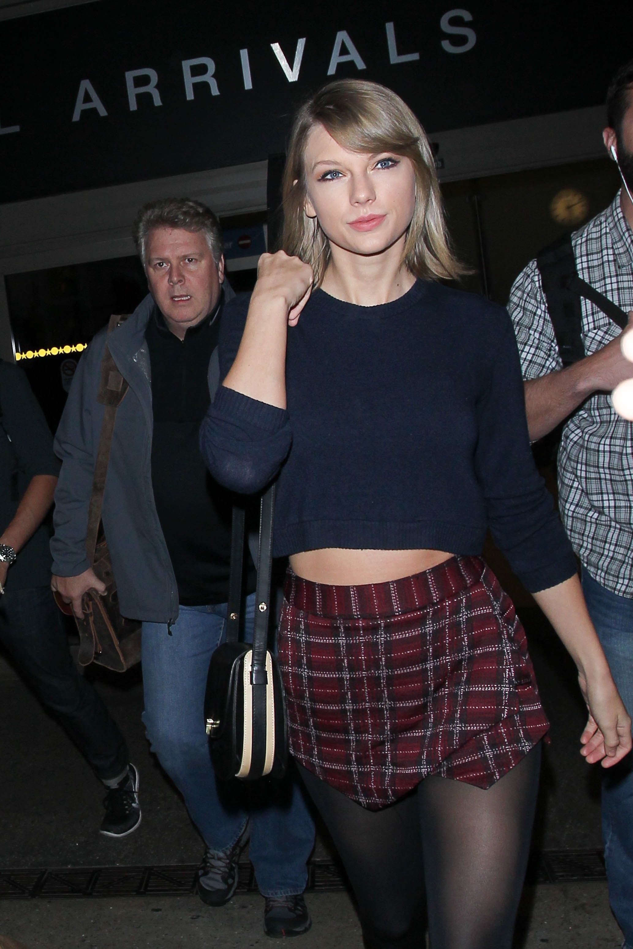 Taylor Swift passing through LAX. Image: GVK/Bauer-Griffin/GC Images
