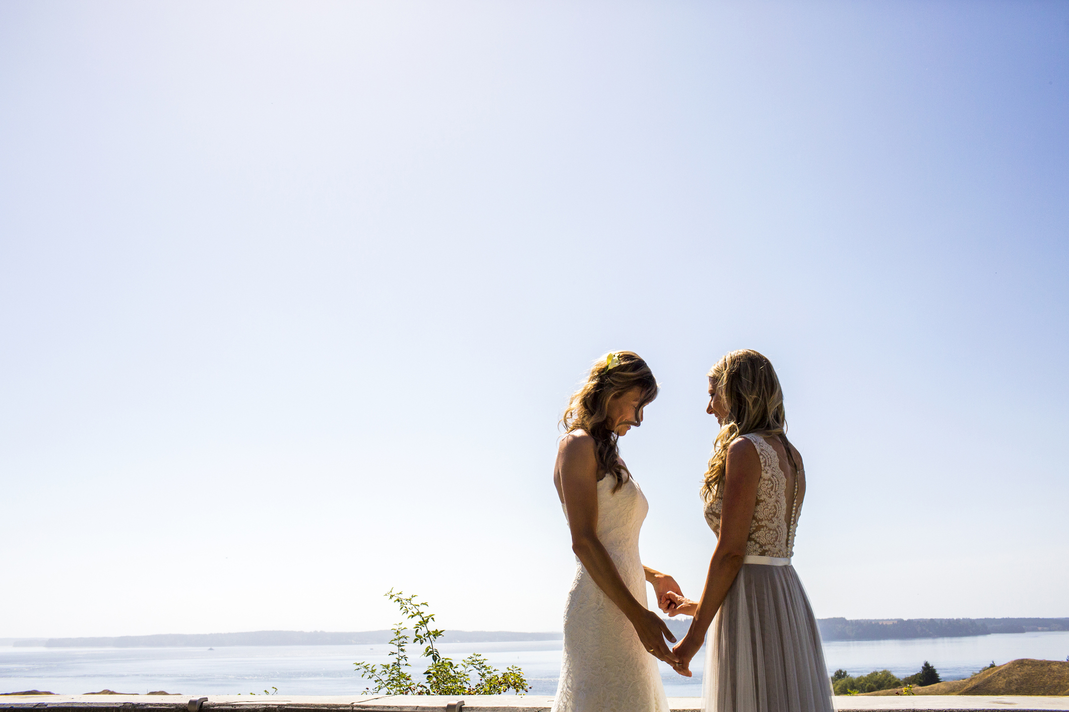 Same sex couples are flocking to NZ to tie the knot. Image: Adam Hester