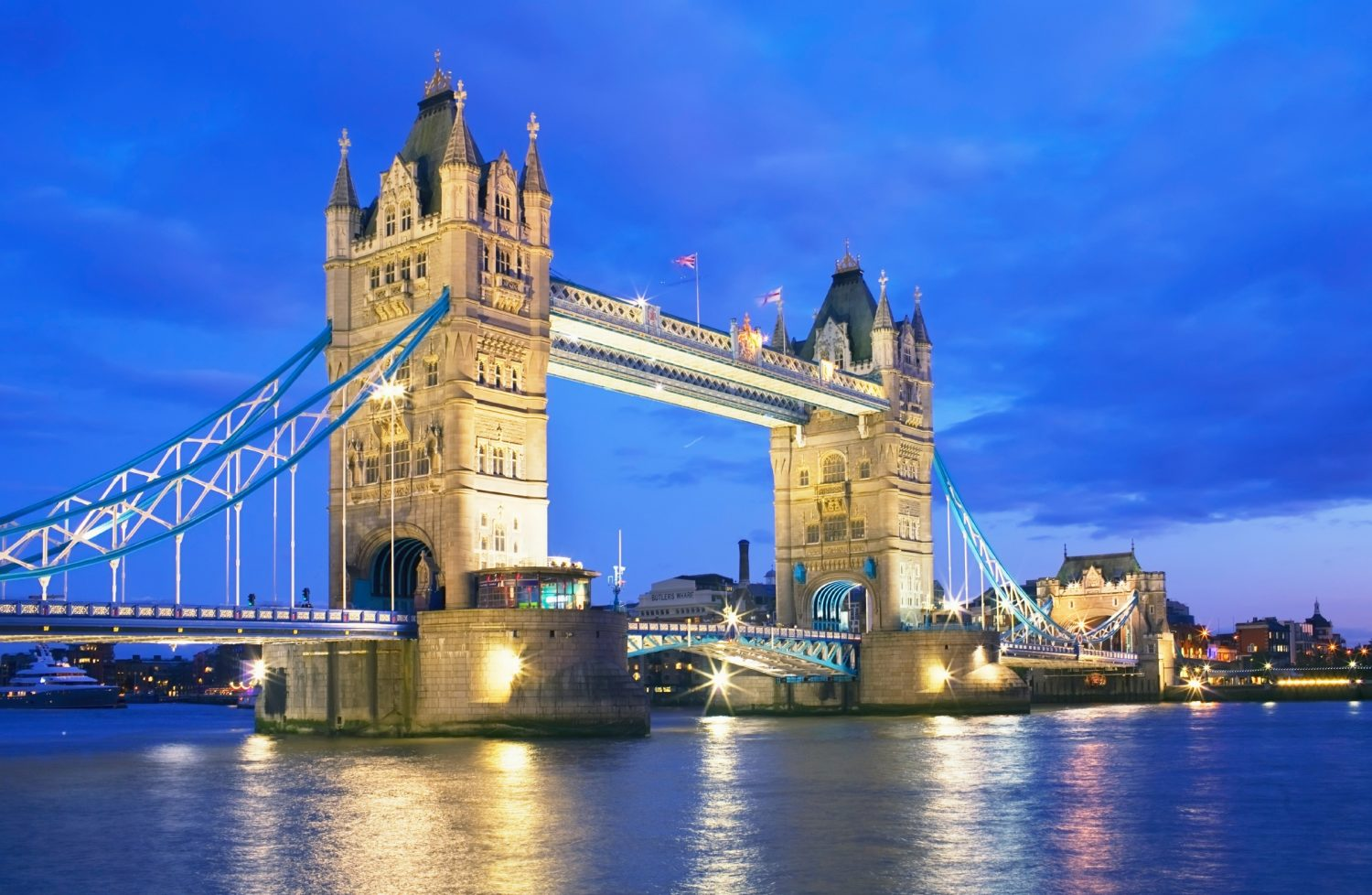 Tower Bridge in London, England. Image: Marco Simoni/Getty Images