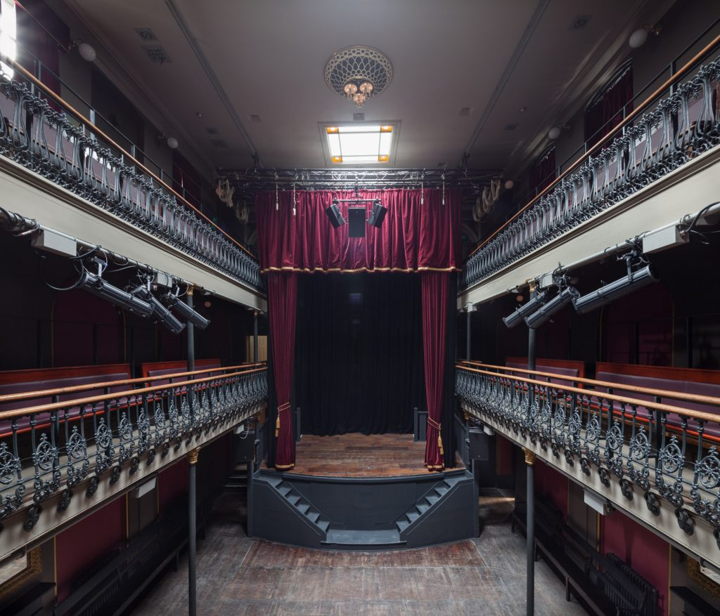 Hoxton Hall in London's East End.