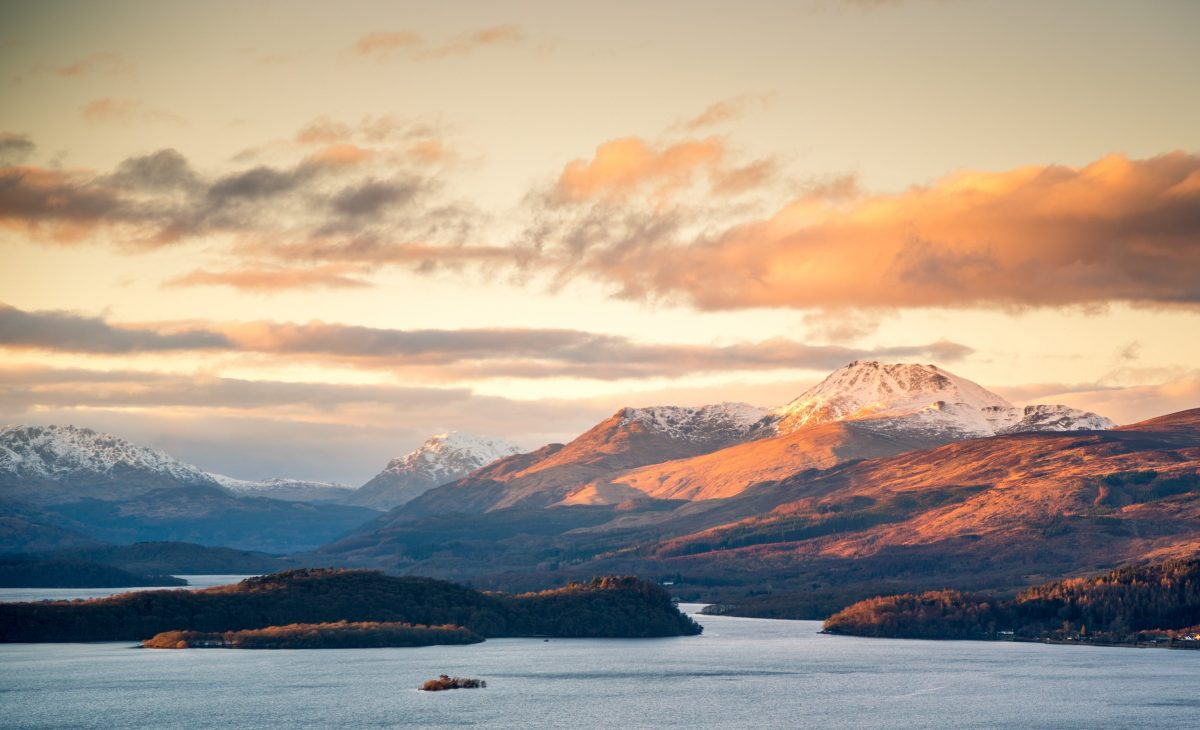 Loch Lomond and The Trossachs National Park, Scotland. image: Hundredrooms