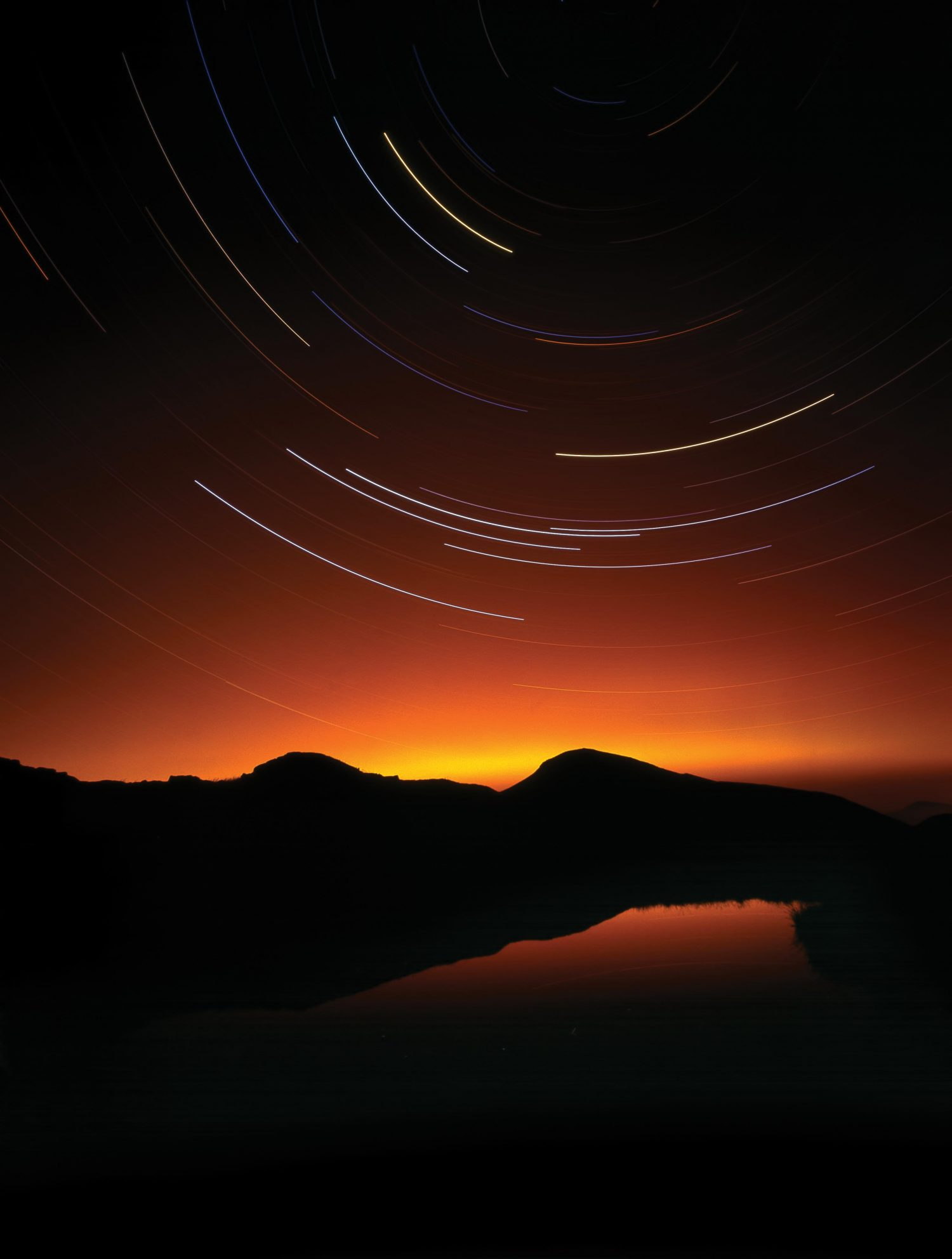 """""""Gable Stars,"""" from the book, Photographing The Lake District: A Guide to the Most Beautiful Places."""