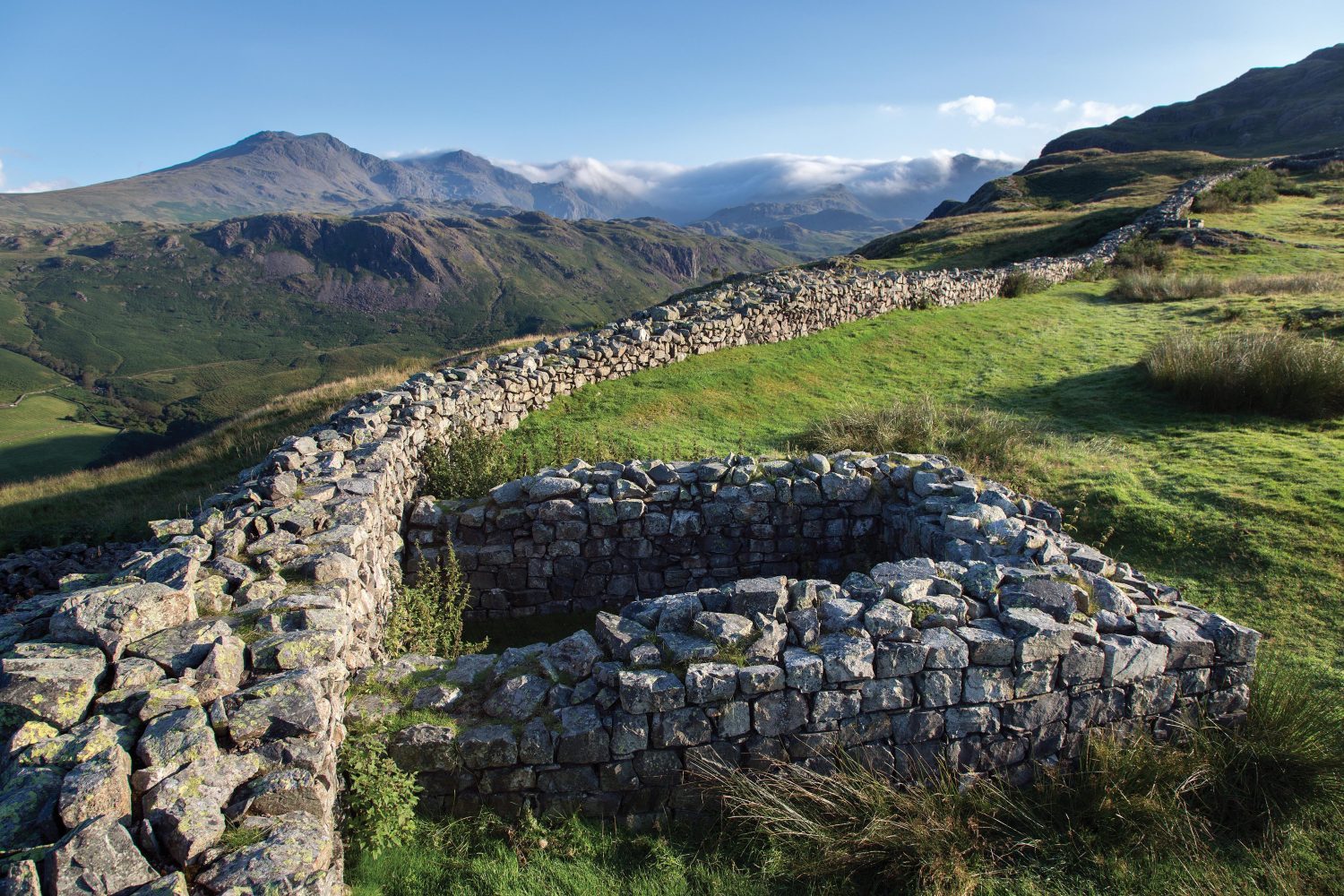 """""""Hardknott Fort,"""" from the book, Photographing The Lake District: A Guide to the Most Beautiful Places."""