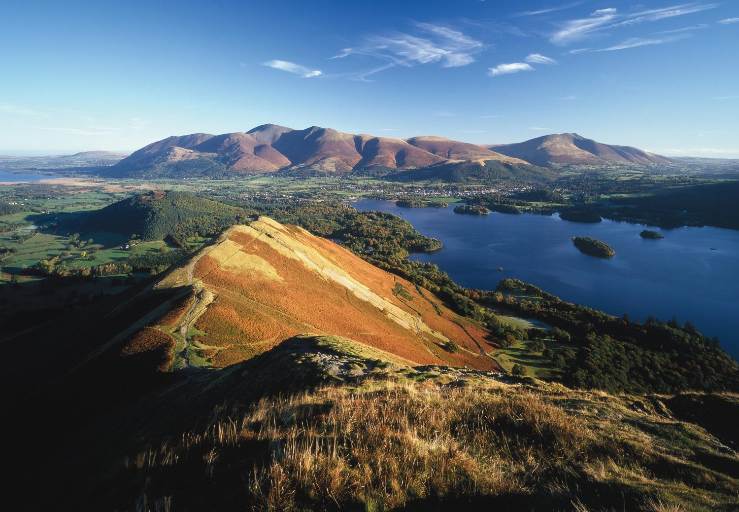 """""""Catbells to Skiddaw,"""" from the book, Photographing The Lake District: A Guide to the Most Beautiful Places."""