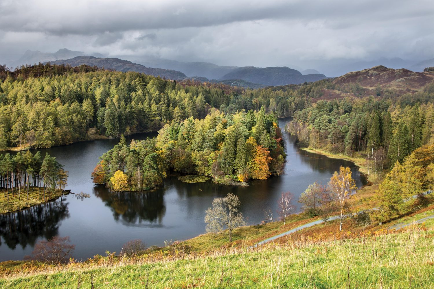 """""""Tarn Hows,"""" from the book, Photographing The Lake District: A Guide to the Most Beautiful Places."""