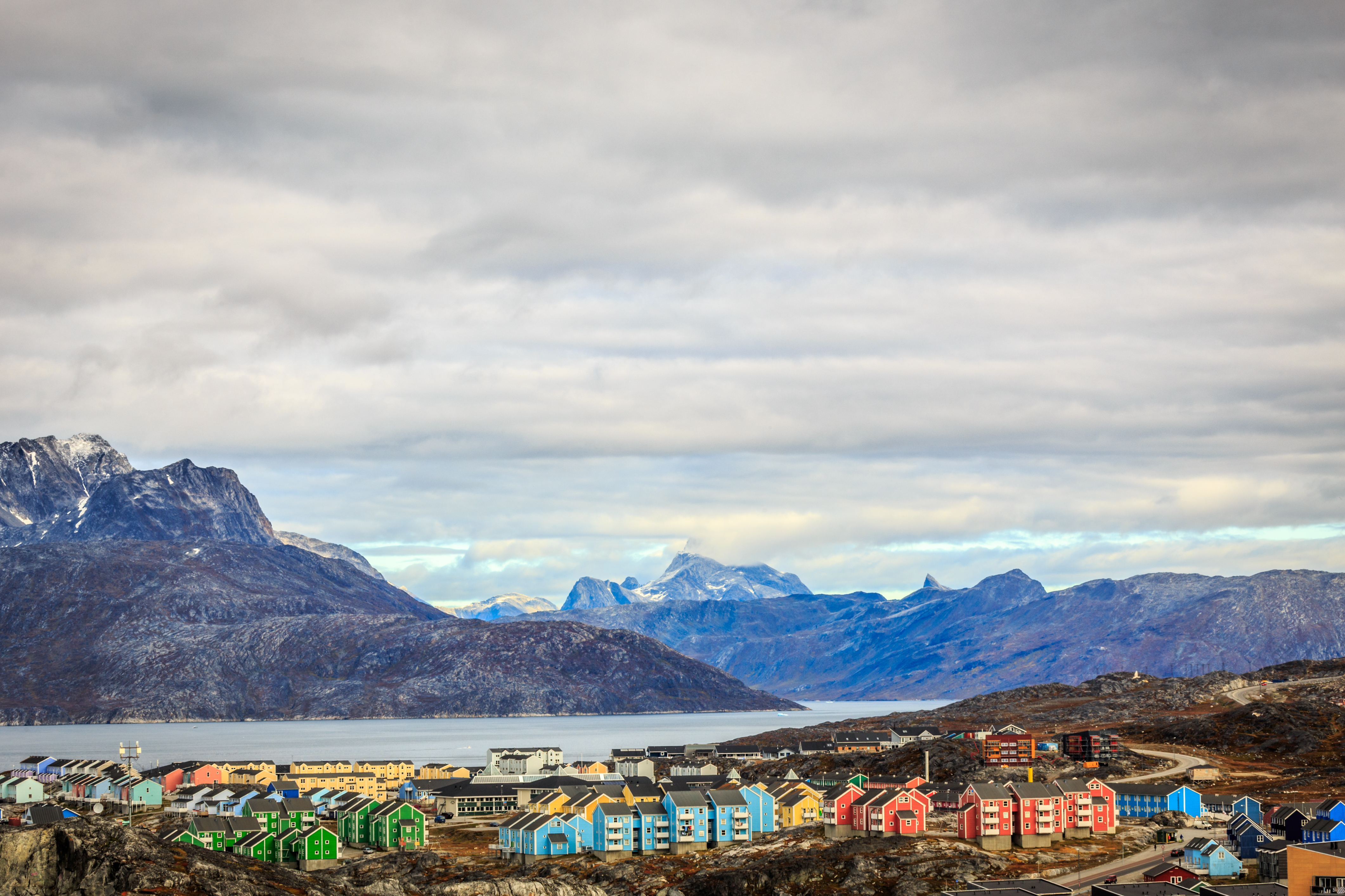 Nuuk is one of the coolest places in the world during the summer. Image: Hundredrooms