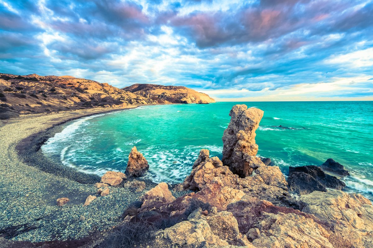 Petra tou Romiou National Forest Park, Cyprus. Image: Hundredrooms