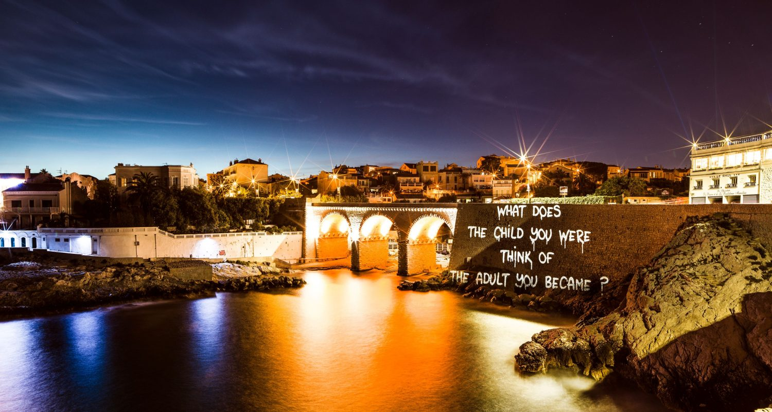 Painting with Lights - Marseille is part of Street Art 2.0. Image: Philippe Echaroux