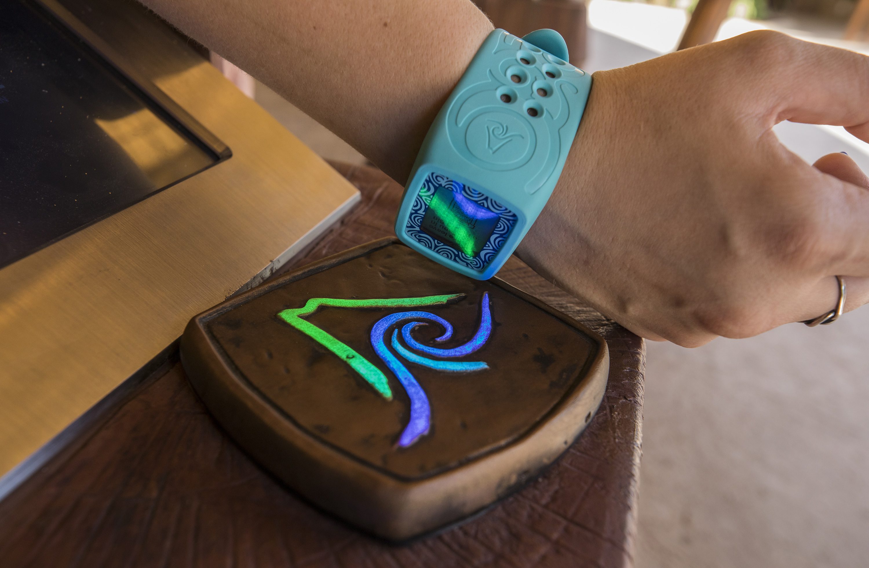 TapuTapu is a smart wearable payment system at Universal Orlando's Volcano Bay