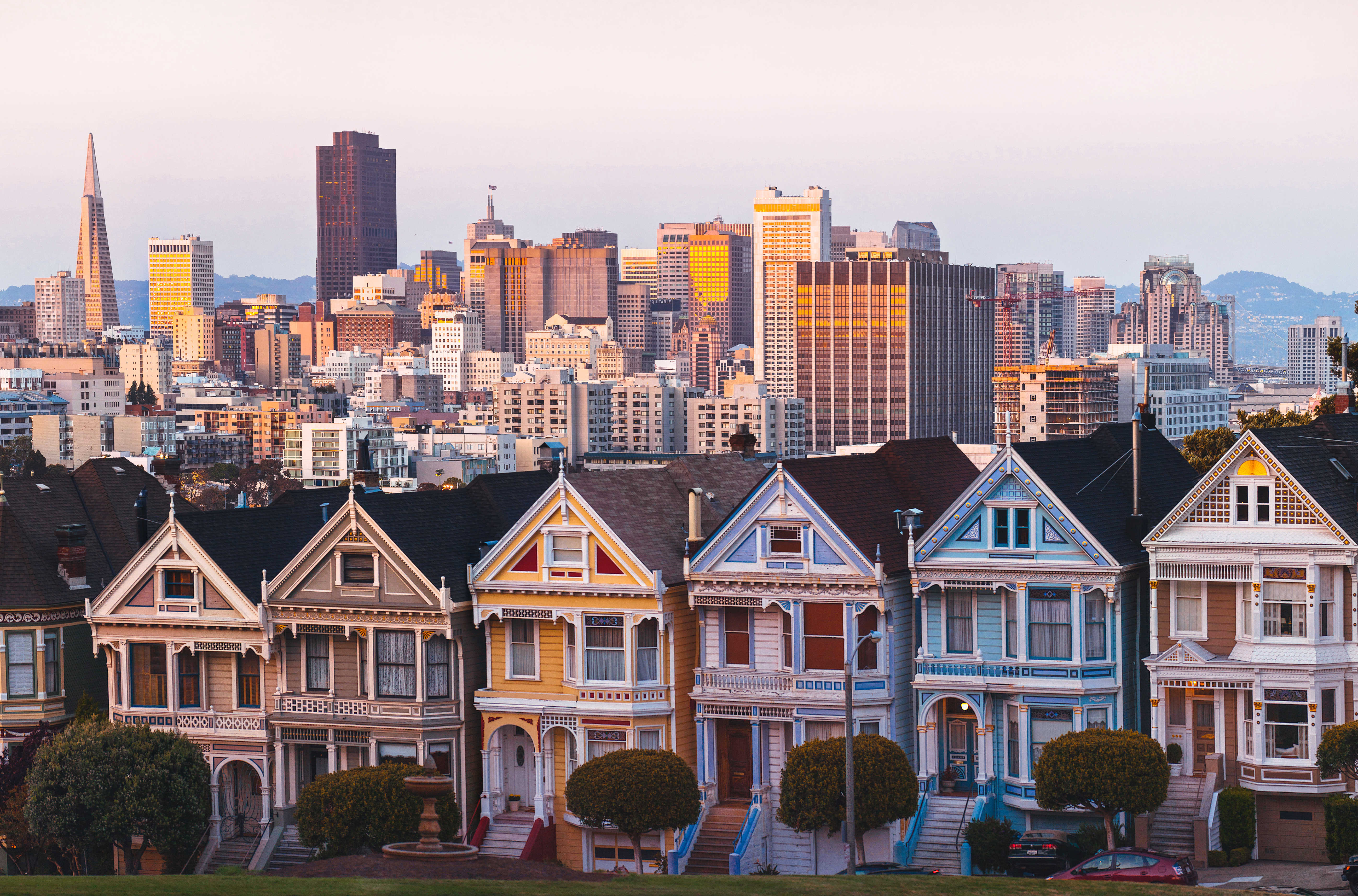 Houses known as Painted Ladies, San Francisco.