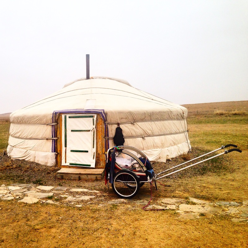 Mongolia is one of the countries that Angela has trekked through.