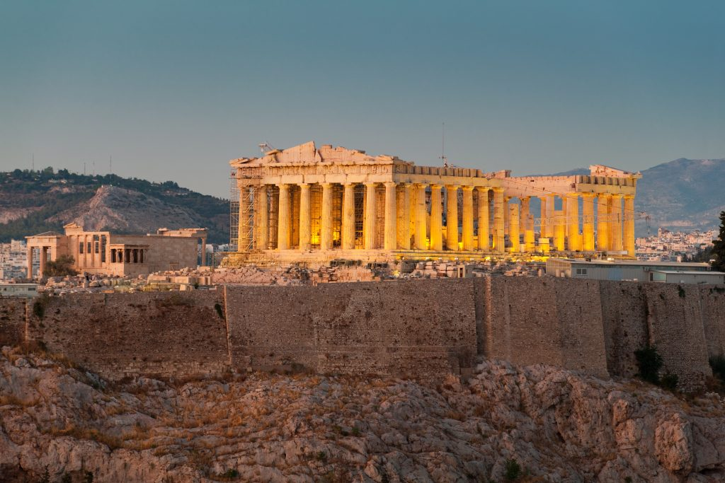 Athens was chosen as the number four food destination. Image: Booking.com