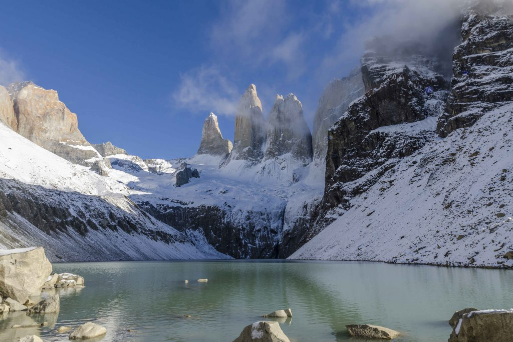Base of Torres del Paine.