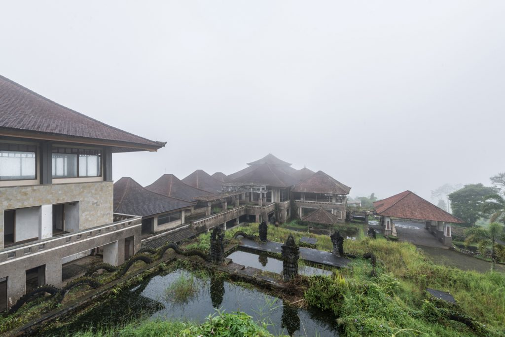 "The ""Ghost Palace Hotel"" draws in visitors to the abandoned Bali hotel."