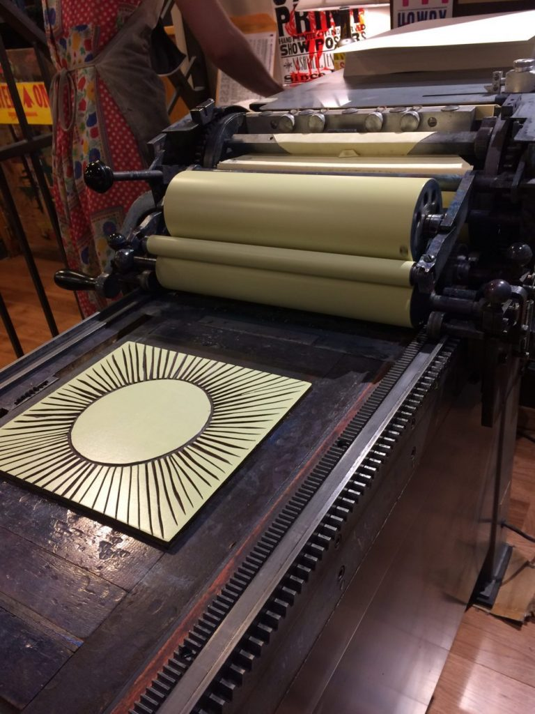 Hatch Show Print opened in 1879.