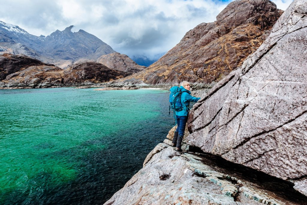 The Bad Step at Coruisk on the Isle of Skye in Scotland. Image: Peter Burnett/Getty Images