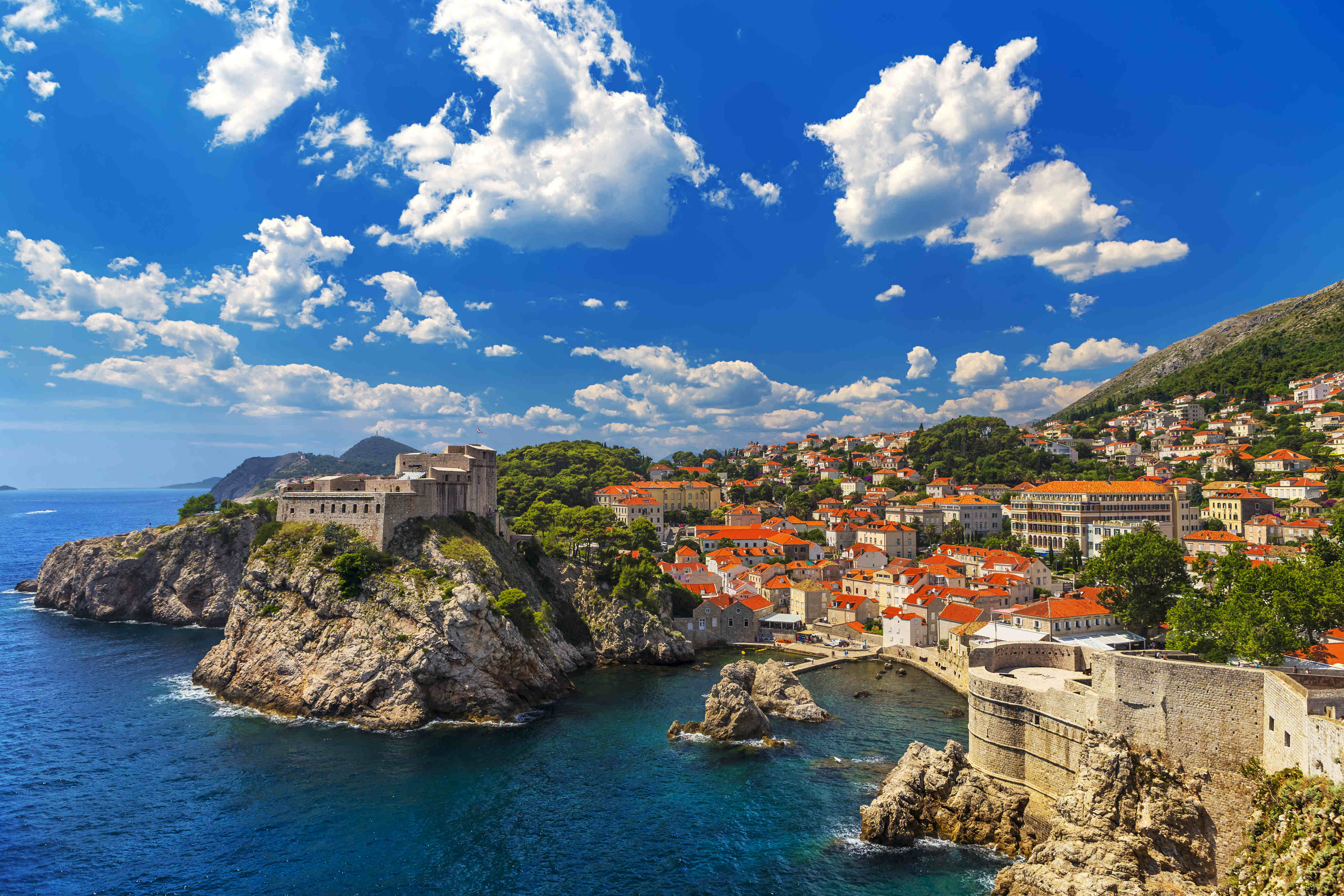 dubrovnik has the most 5