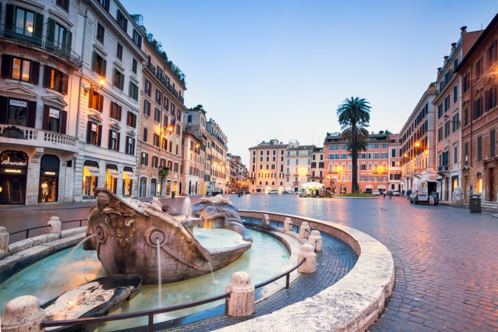 Piazza di Spagna, Rome, Italy. Image: Matteo Colombo/Getty Images/Moment RF