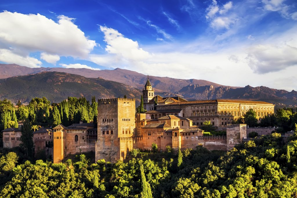 Granada was chosen as the number eight food destination. Image: Booking.com