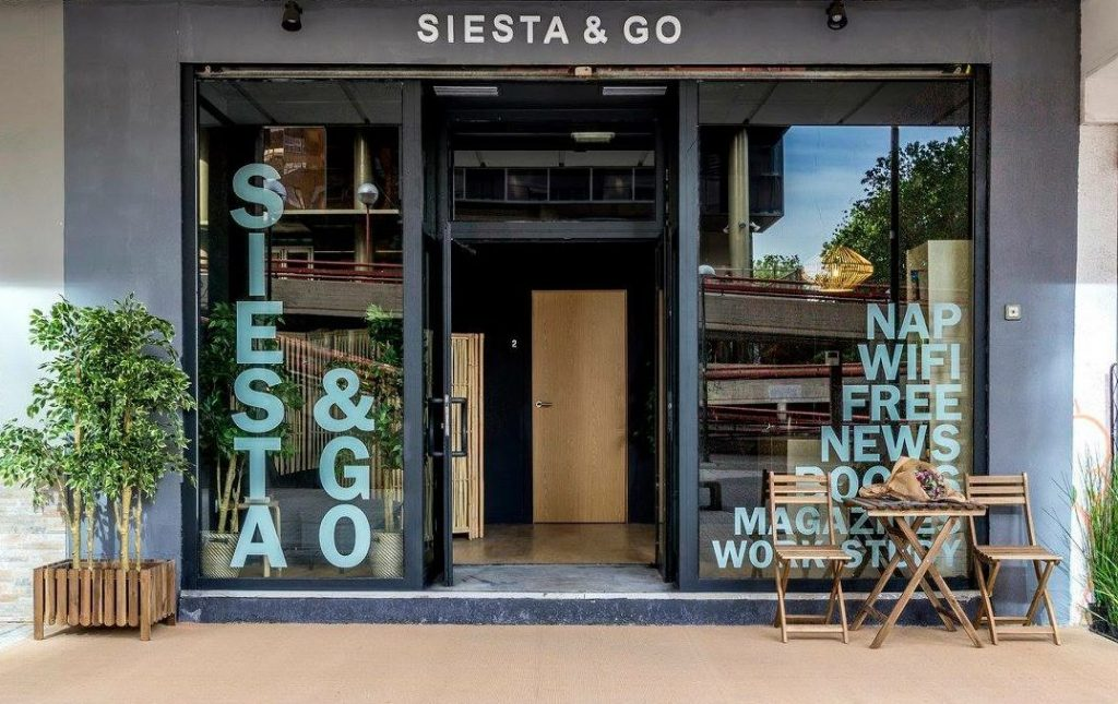 Siesta and Go hopes to become a refuge for those seeking a quiet place to rest, read or take a siesta.