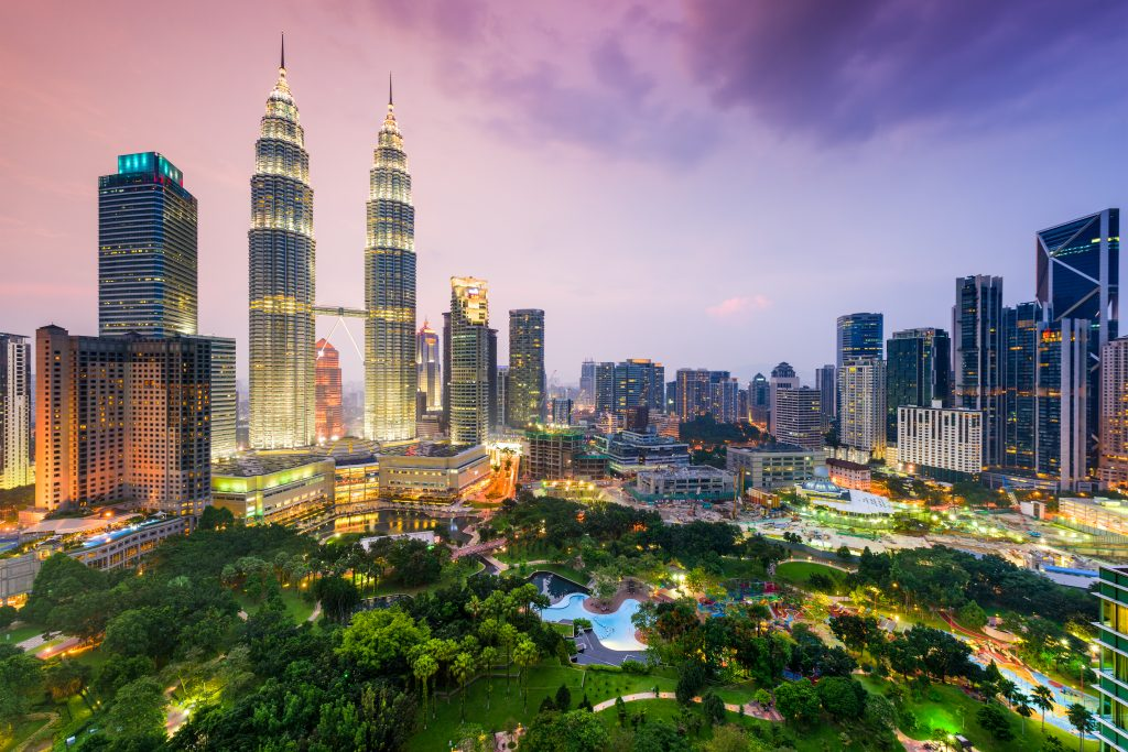 Kuala Lumpur was chosen as the number five food destination. Image: Booking.com