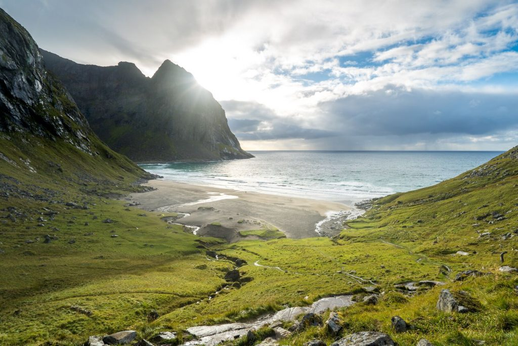 The scenery of Lofoten.