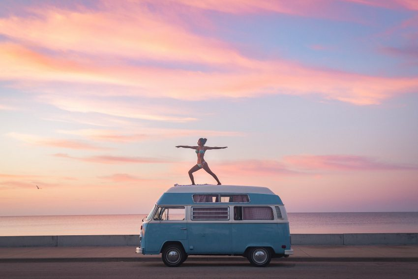 Volkswagen Of America >> Adventurous couple swapped their backpacks for a 1973 VW ...