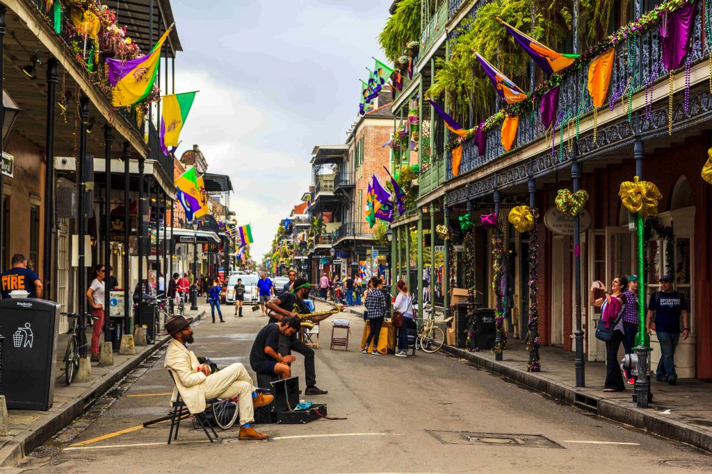 French Quarter in the Big Easy