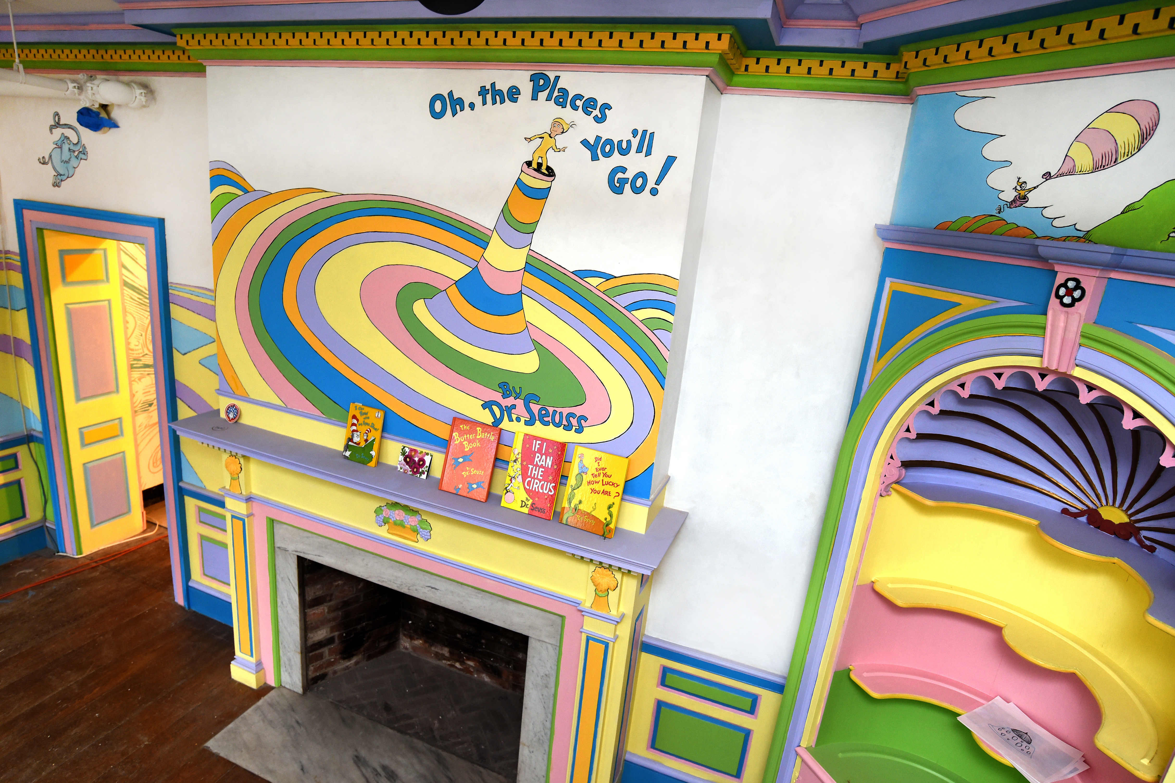 Oh, The Places You'll Go is one theme in the museum, which focuses on Dr Seuss.