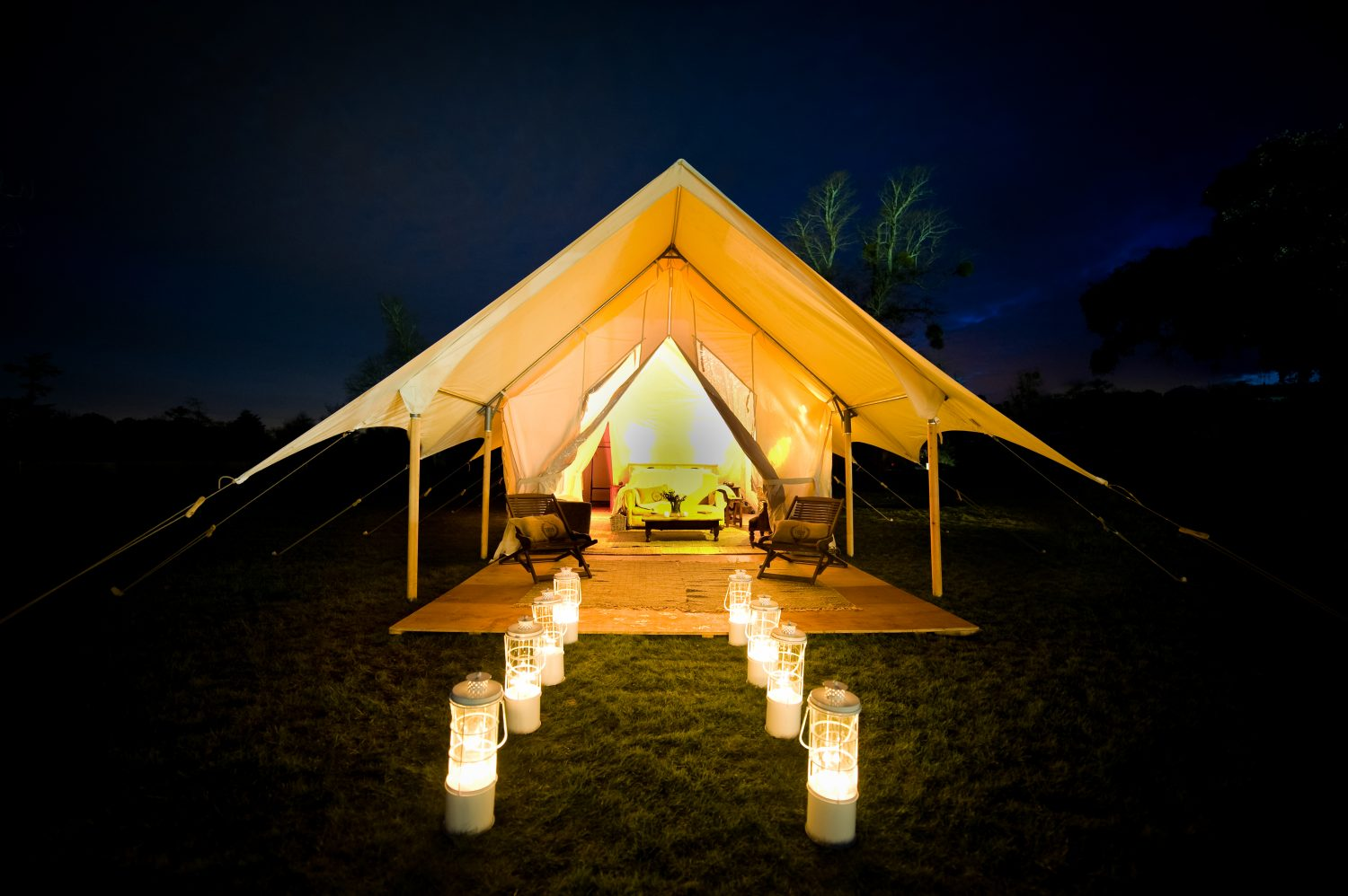 You can stay at a pop-up hotel at LoveFit Festival in July. Image: LoveFit Festival