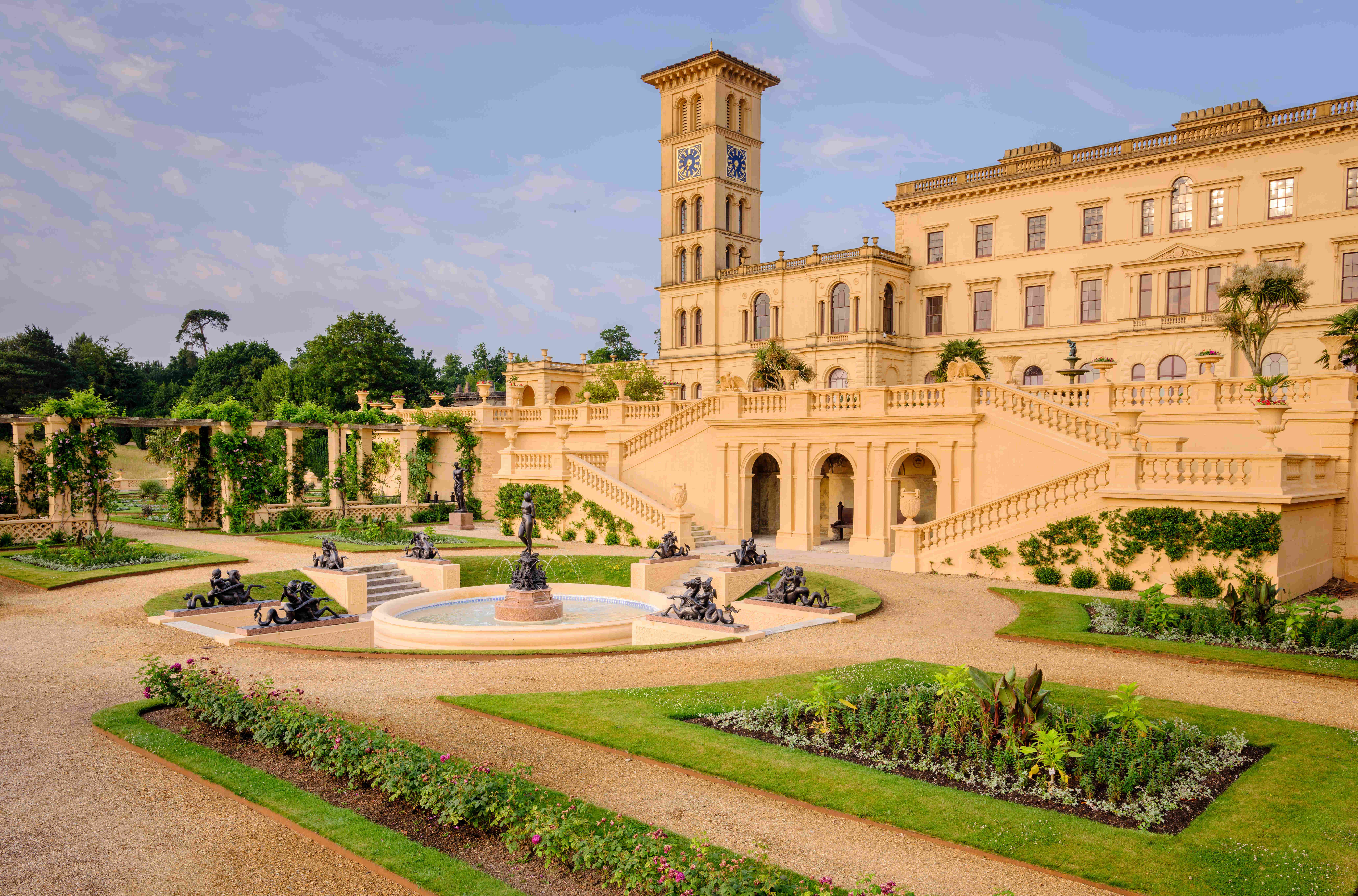 Queen Victoria S Private Terrace On The Isle Of Wight Opens