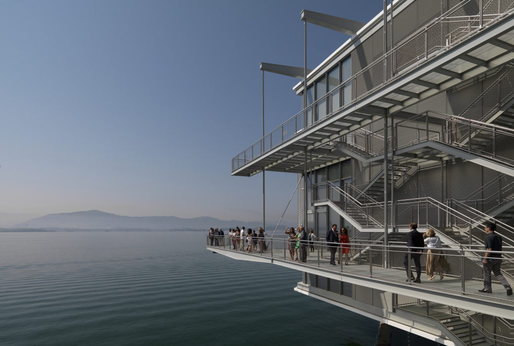 The Centro Botín art gallery opens by the waterfront in Santander. Image: Enrico Cano