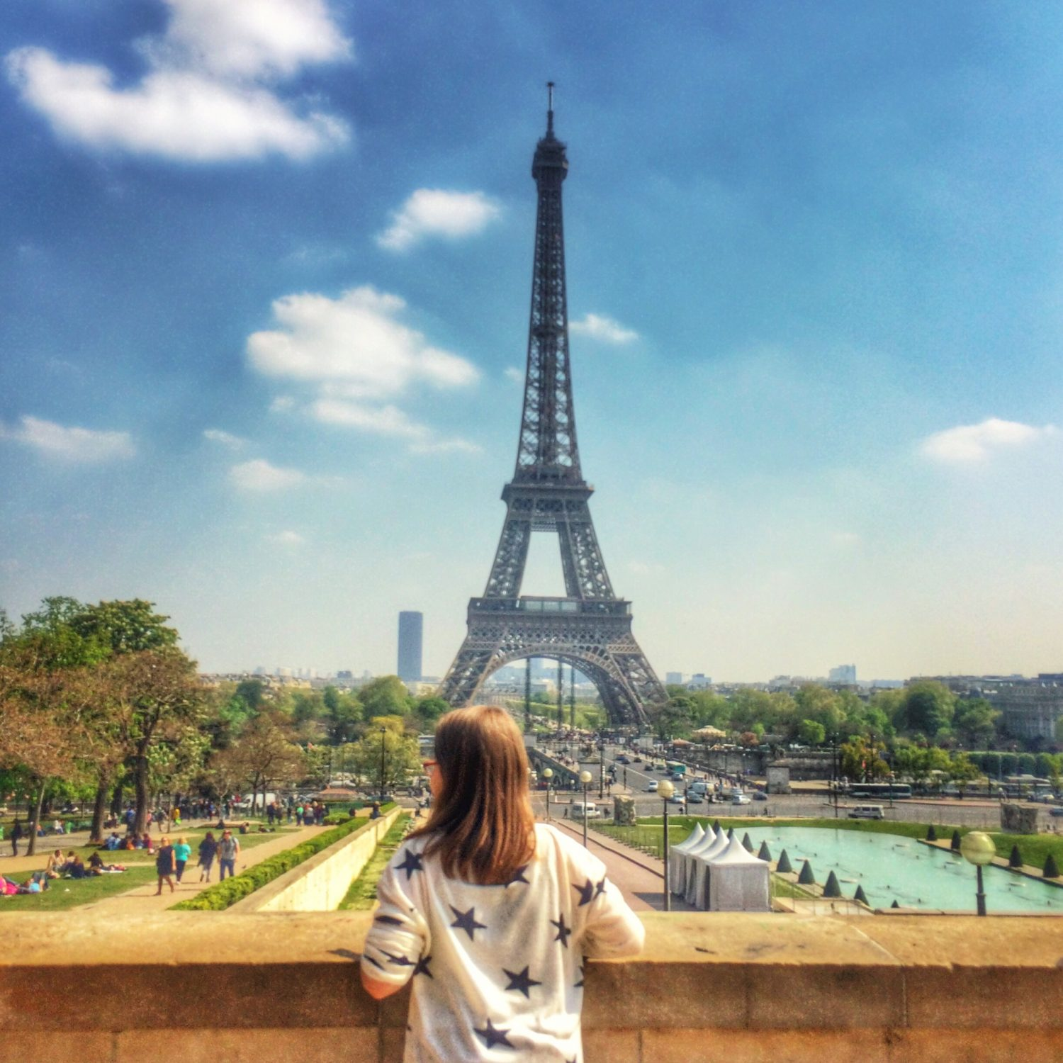 The Eiffel Tower from the Trocadero