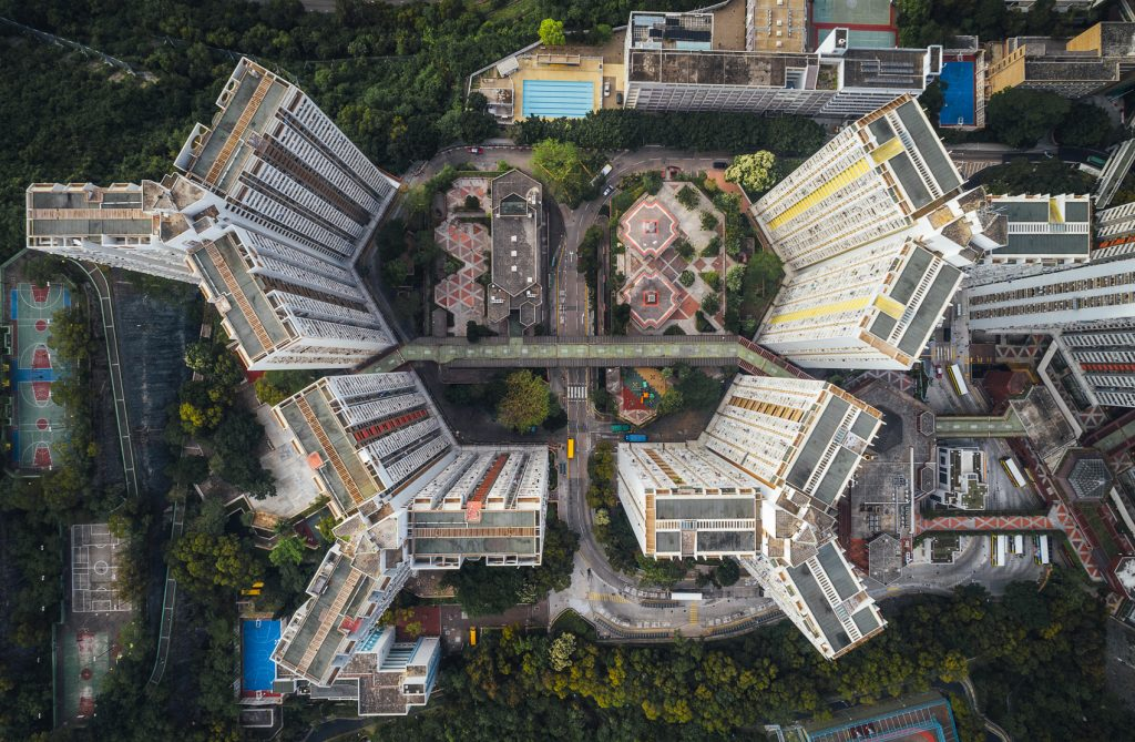 Hong Kong skyscrapers captured by drone by Andy Yeung