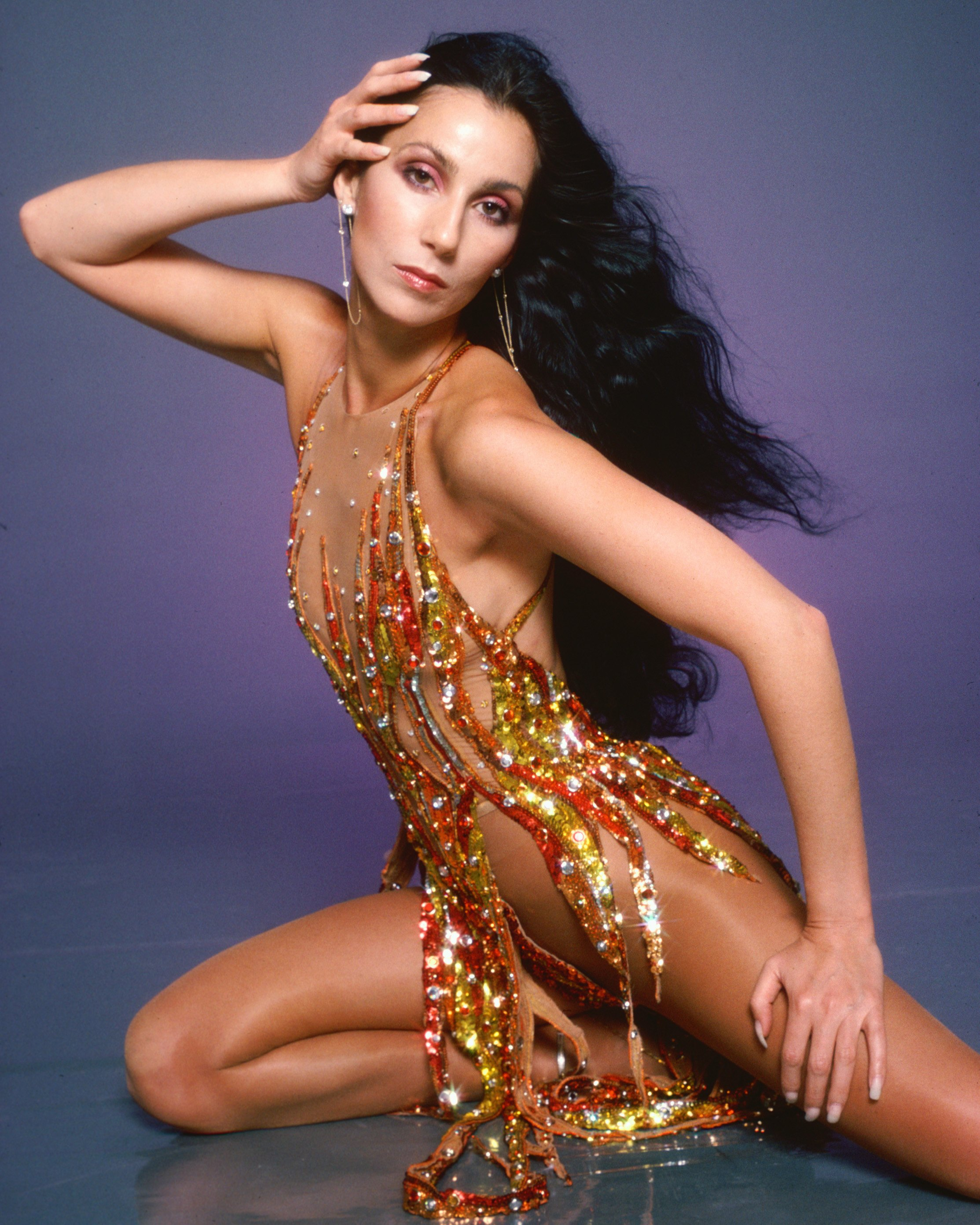 Cher poses for a portrait in 1978