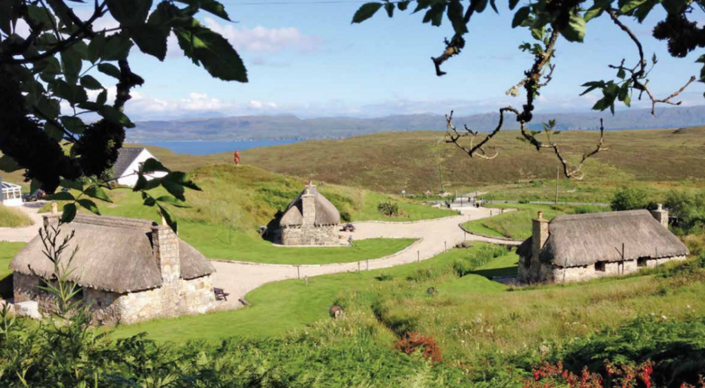 You could buy this entire village of the Isle of Skye. Image: Strutt and Parker
