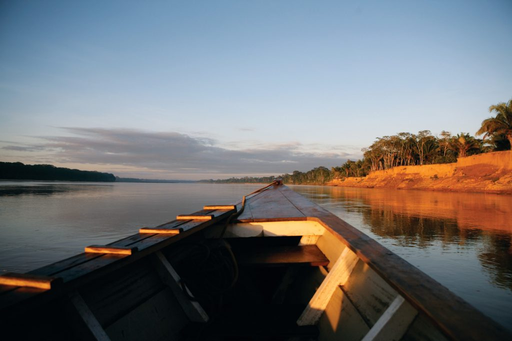 Excursions on the river are included in your trip. Image by Inkaterra